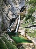 Vodopád řeky Savice.
