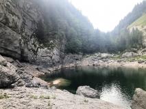 Cílem bylo Černé jezero.
